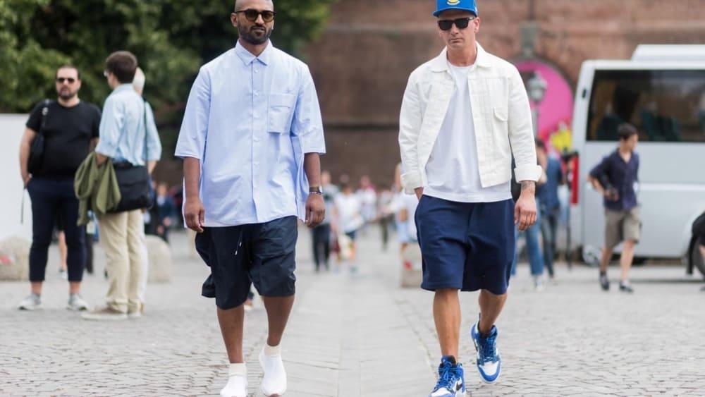 Outstanding Trends in Men's Shorts Styles 2021