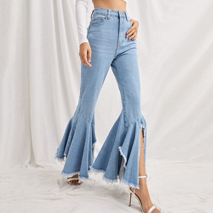 Frayed Jeans 2022