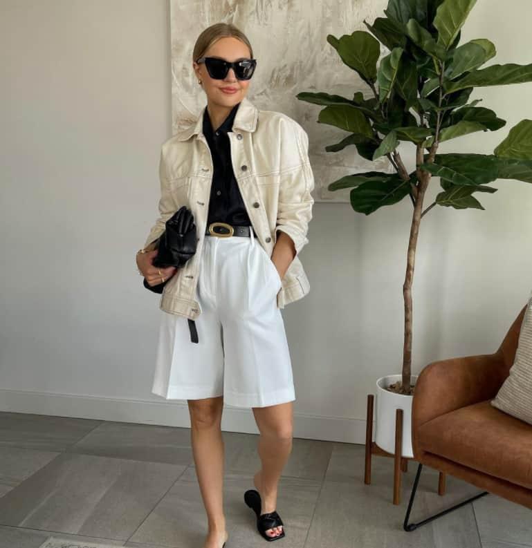 Cotton Linen Shorts 2022