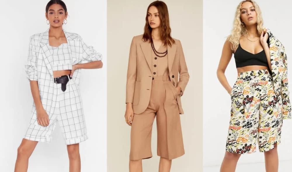 Shorts Suits 2022