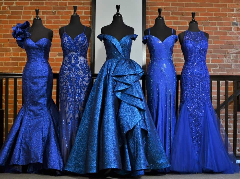 Blue Prom Dresses 2022