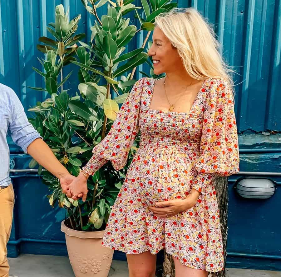 Shirt Dresses pregnant 2022