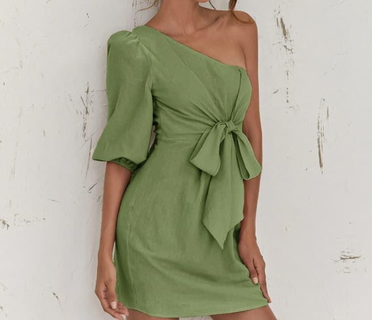 Light Green Dress 2022