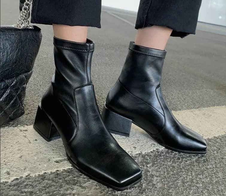 Square Toe Boots 2022