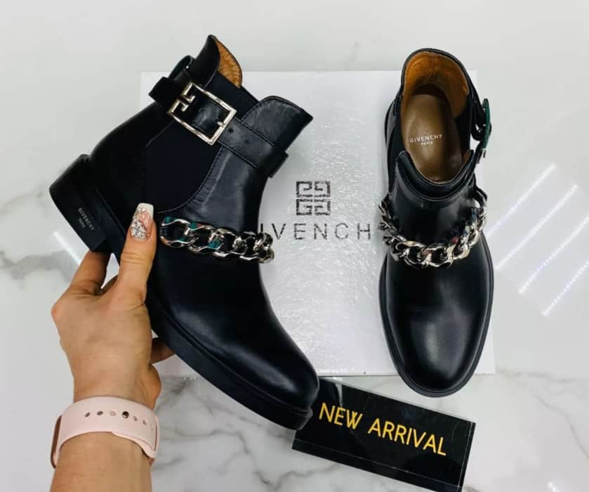 Boots with Chains