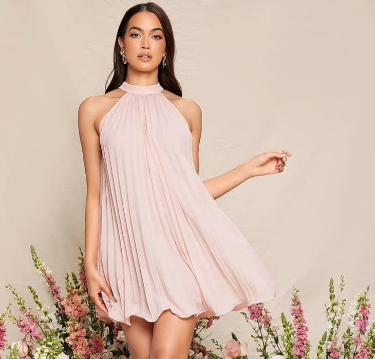 Pleated Dress 2022