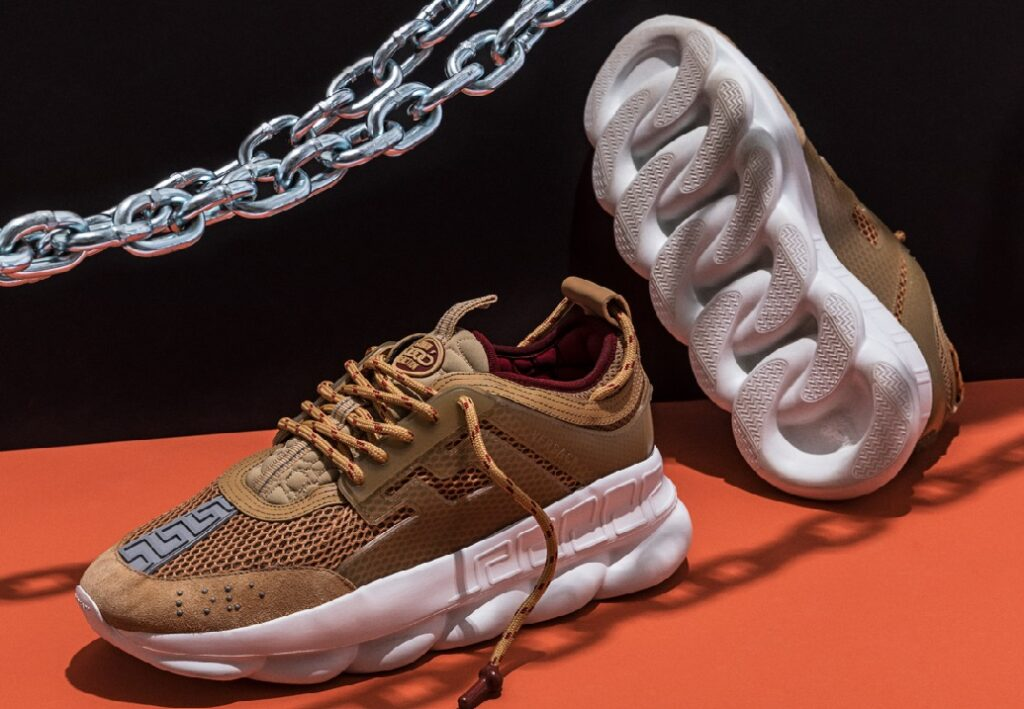 Chain Trend in Kids' Shoes 2022